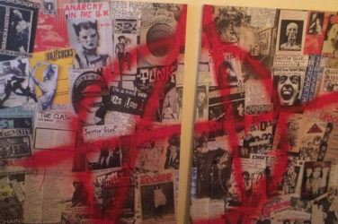 Artist Helen Newbery's piece Hey! Punk
