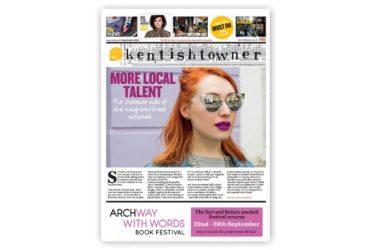 Front cover of the September 2018 edition of Kentishtowner