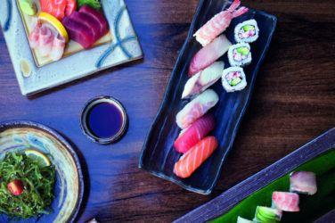 Sushi at Kami in Kentish Town