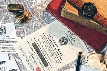 Camden Watch Company presents Memento Mori: A Camden Mystery