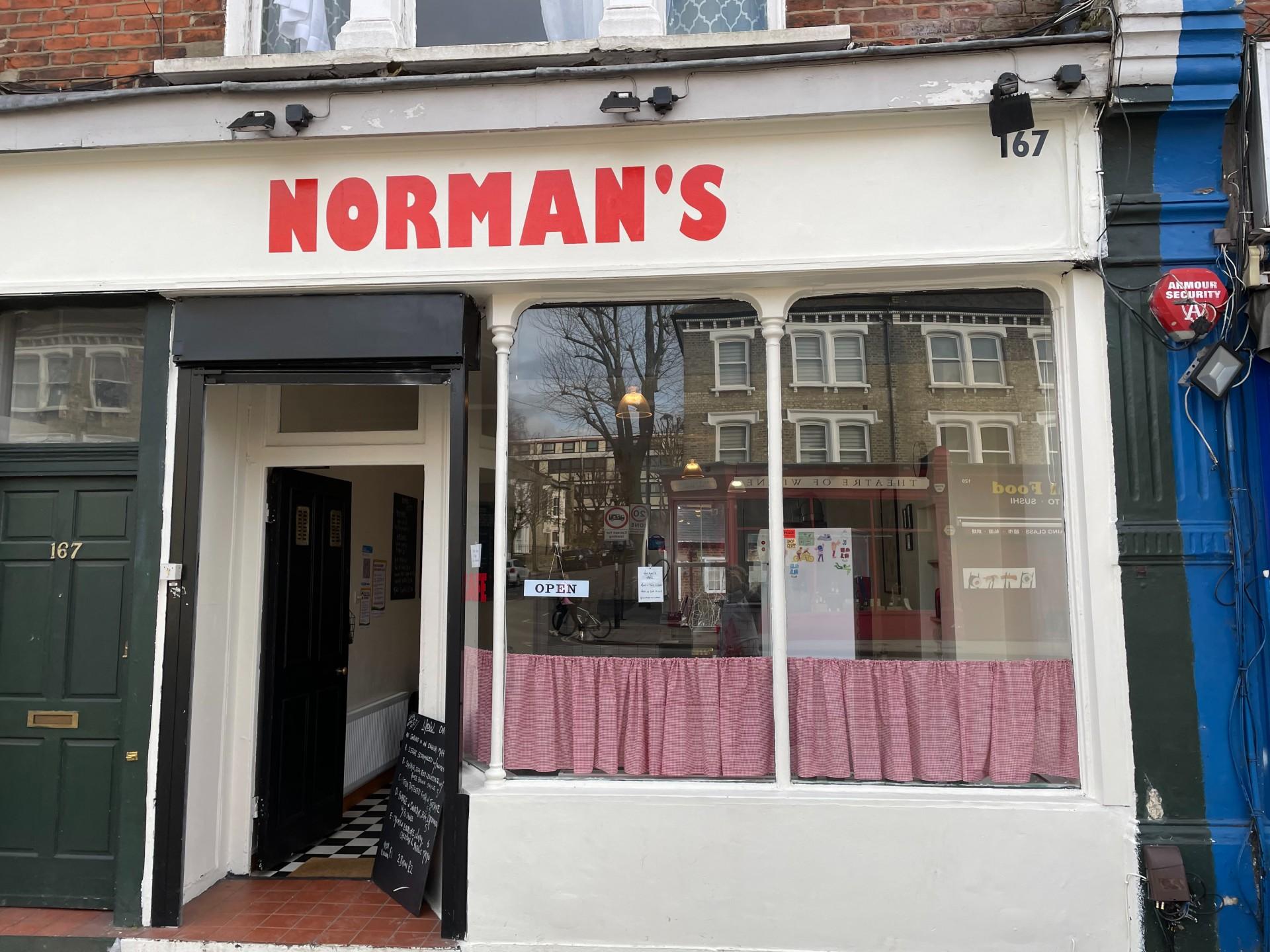 Normans cafe N19